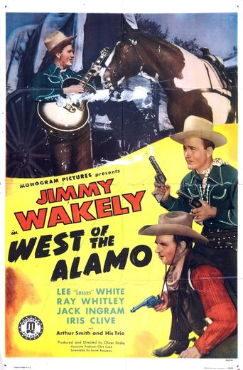 West of the Alamo Poster