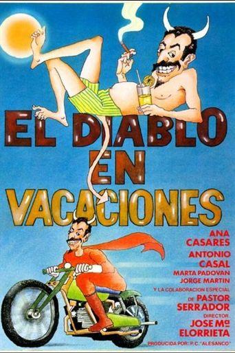 El diablo en vacaciones Poster