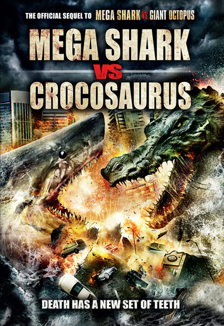 Mega Shark vs. Crocosaurus Poster