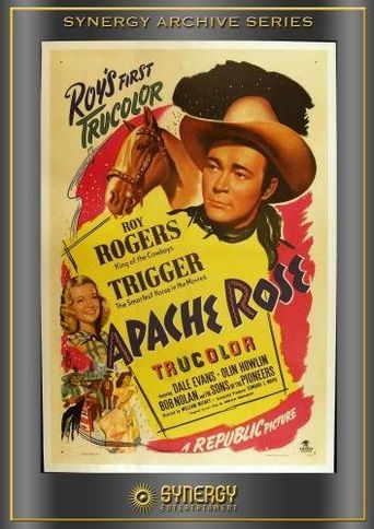 Apache Rose Poster