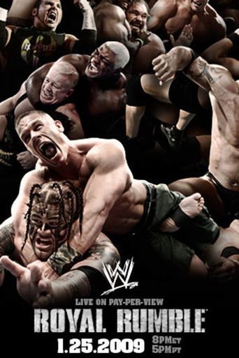 WWE Royal Rumble 2009 Poster