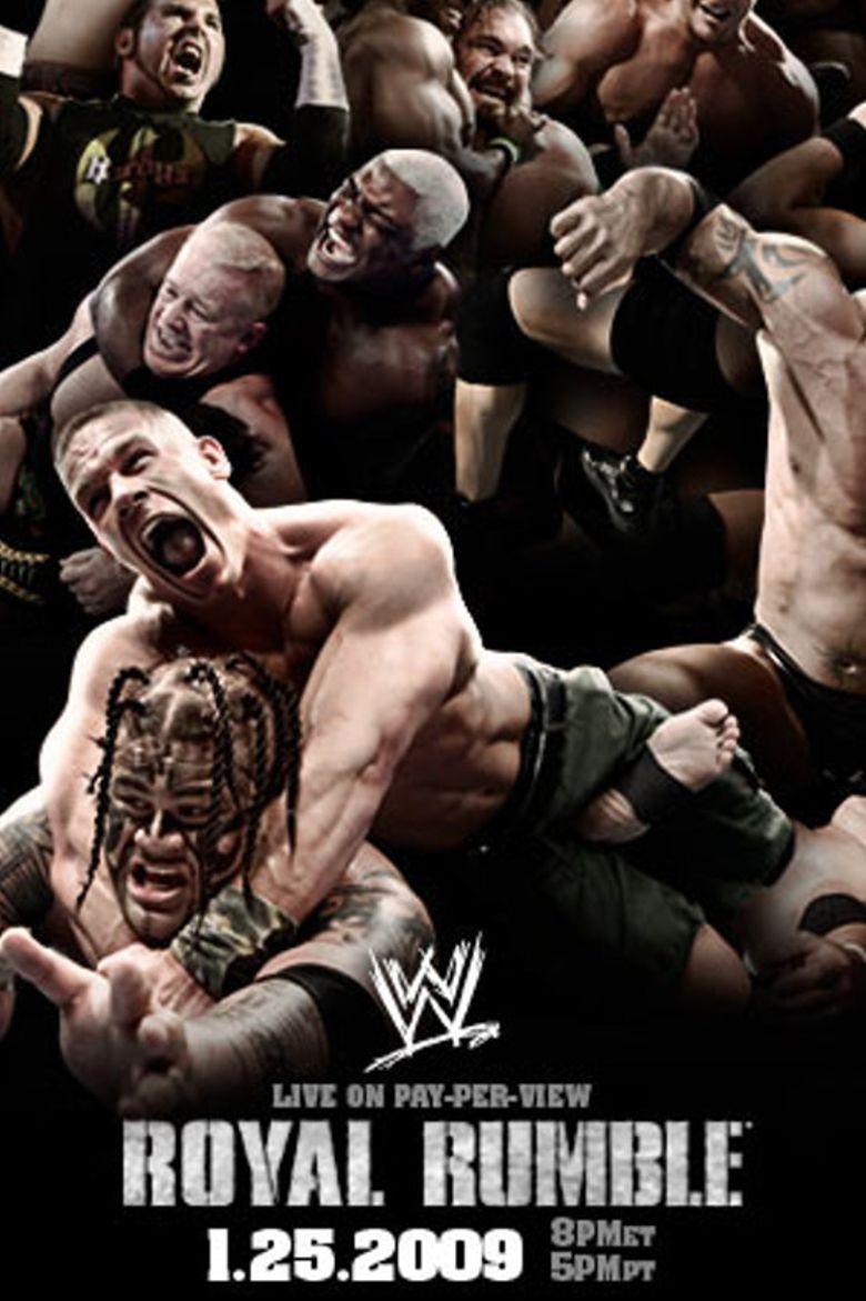 WWE Royal Rumble 2009 Poster