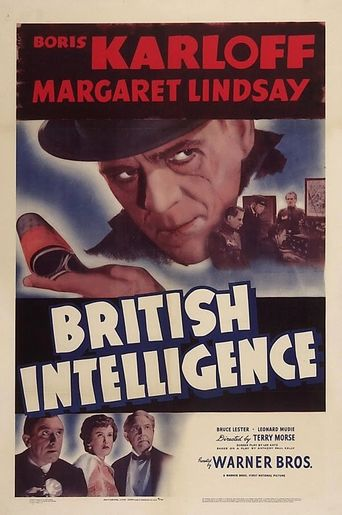 British Intelligence Poster