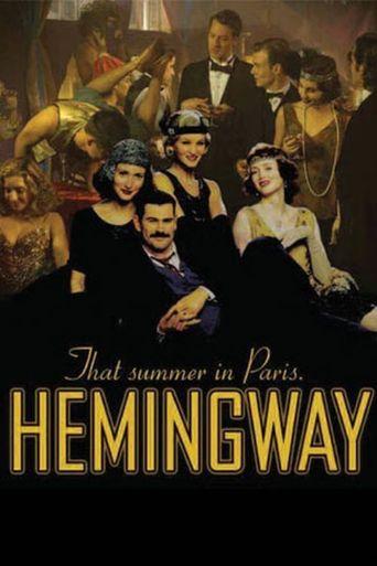 Hemingway vs. Callaghan Poster