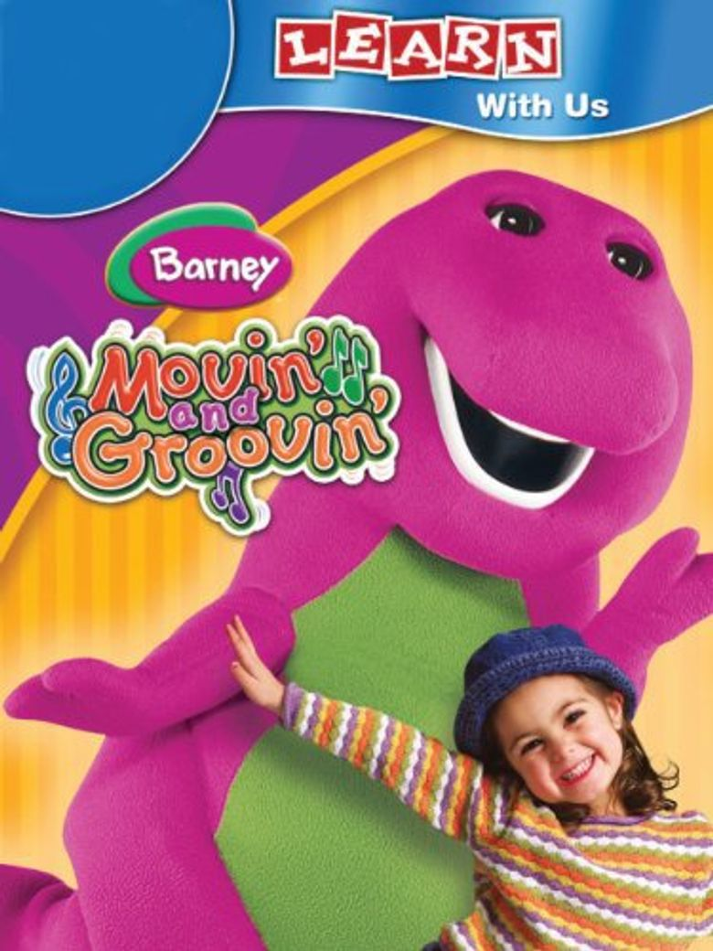 Barney: Movin' and Groovin' Poster