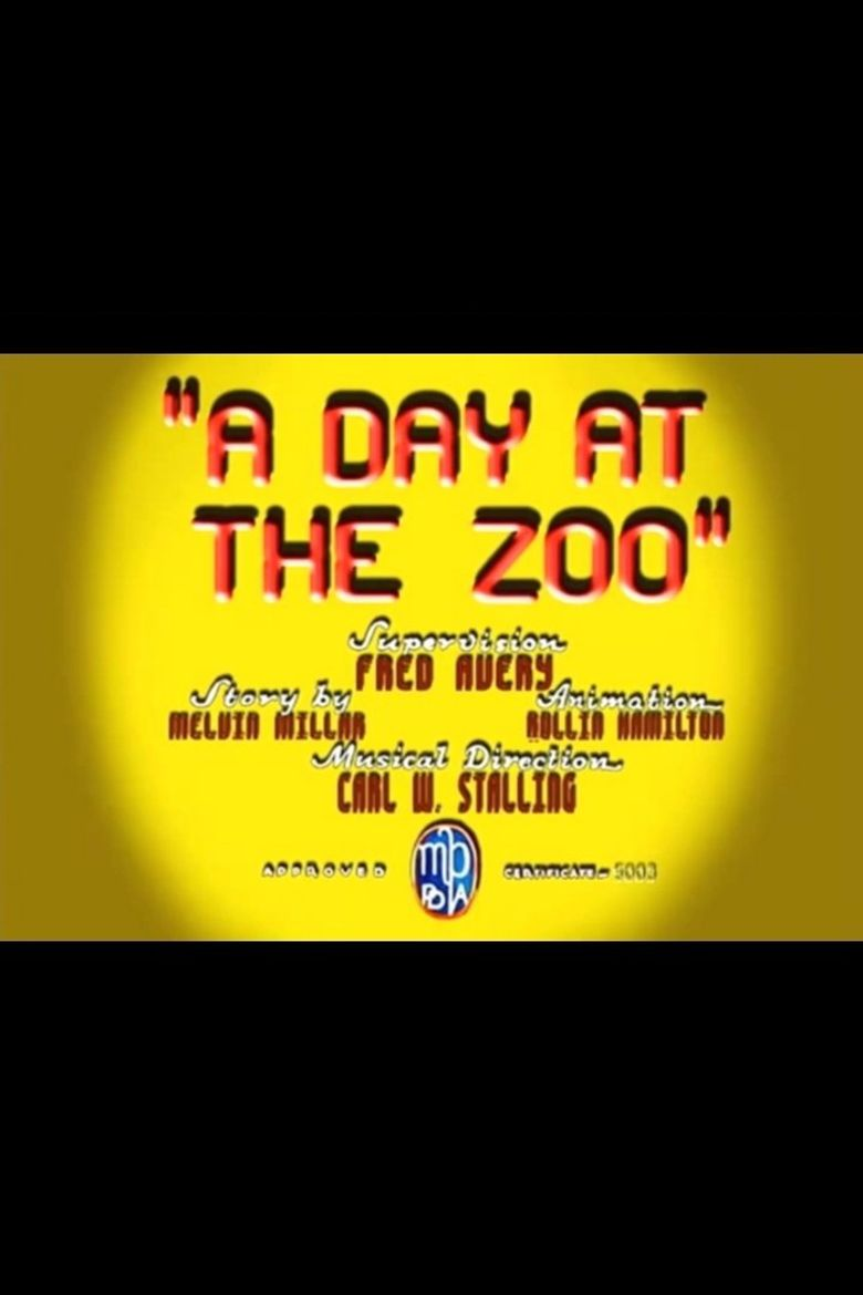 A Day at the Zoo Poster
