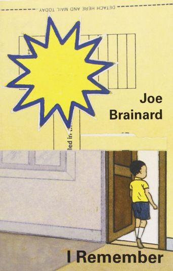 I Remember: A Film About Joe Brainard Poster
