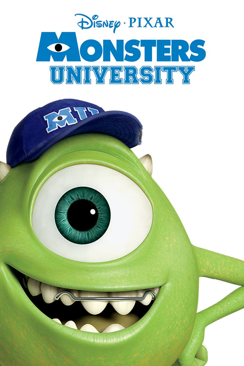 Monsters University Poster