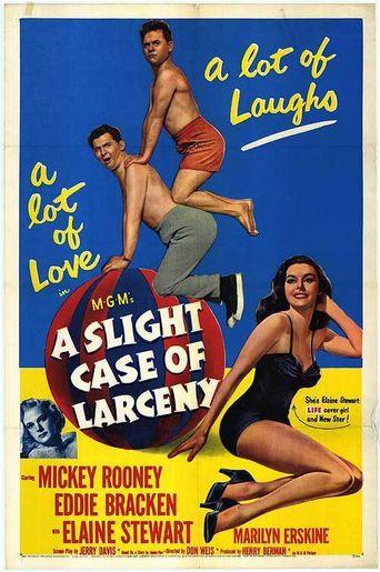 A Slight Case Of Larceny Poster