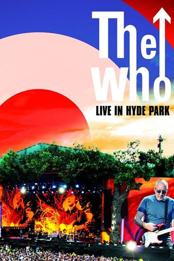 The Who: Live in Hyde Park Poster