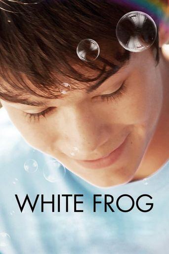 White Frog Poster