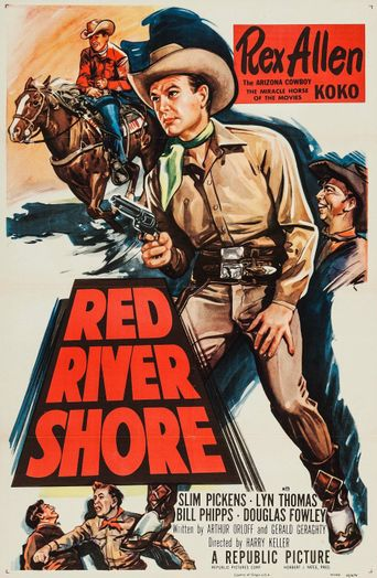 Red River Shore Poster