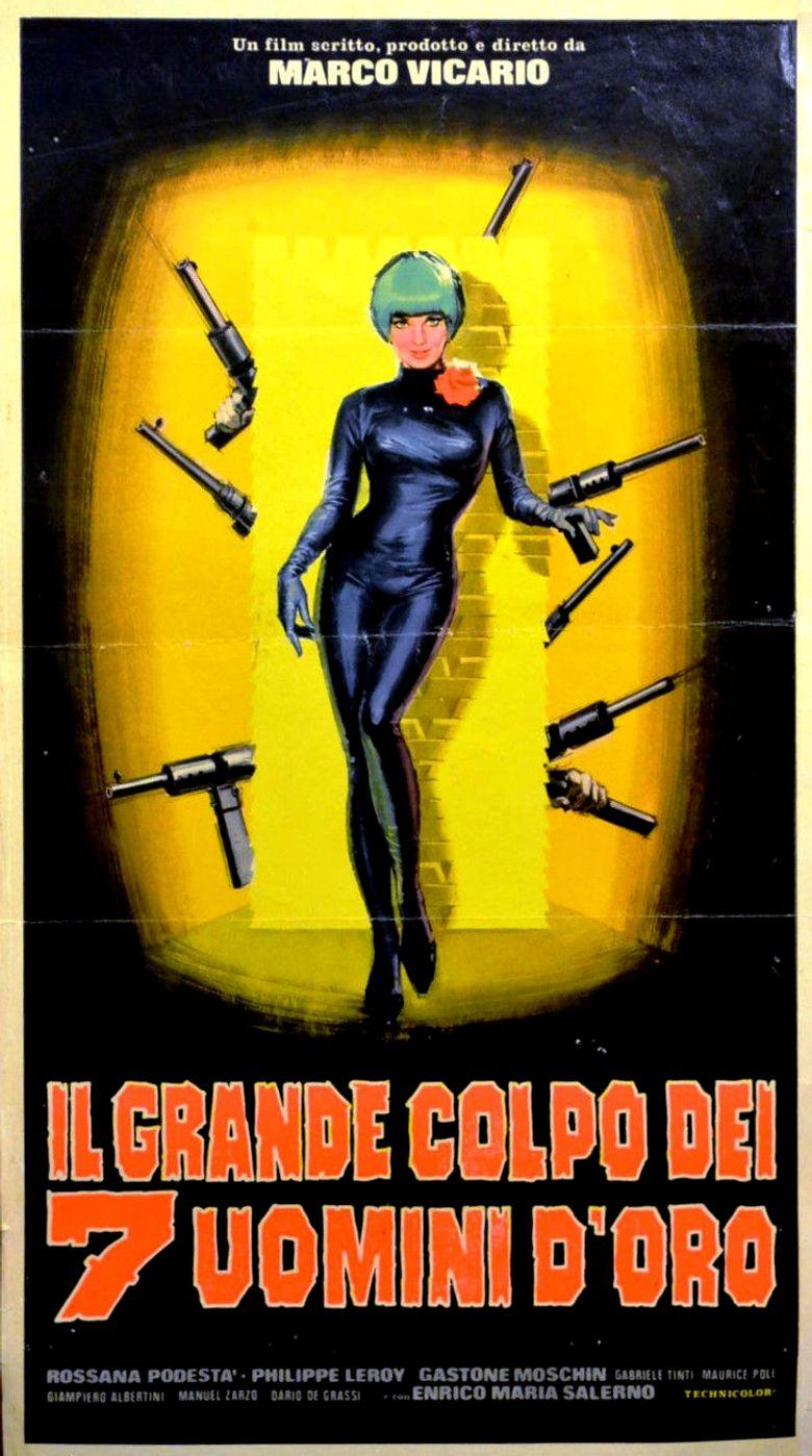 Seven Golden Men Strike Again Poster