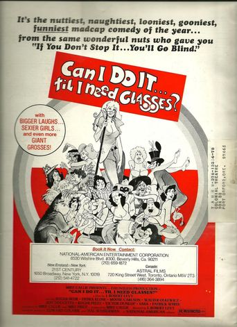 Can I Do It Till I Need Glasses? Poster