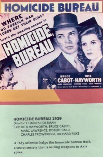 Homicide Bureau Poster