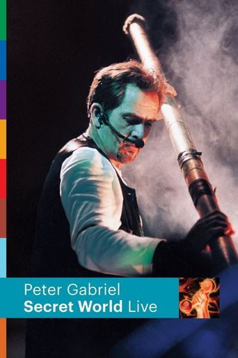 Peter Gabriel: Secret World Live Poster
