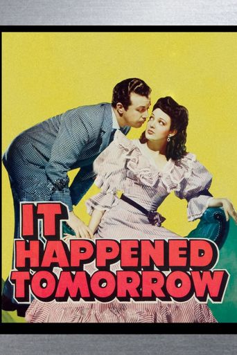 It Happened Tomorrow Poster