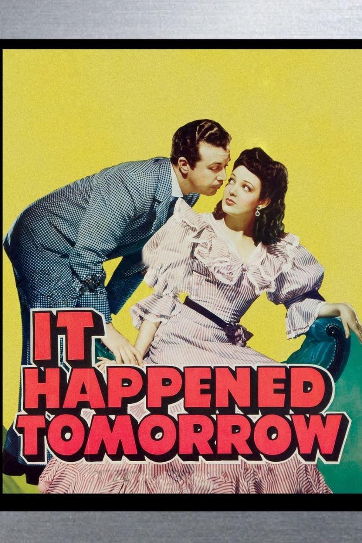 It Happened Tomorrow Poster