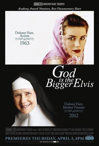 God is the Bigger Elvis Poster