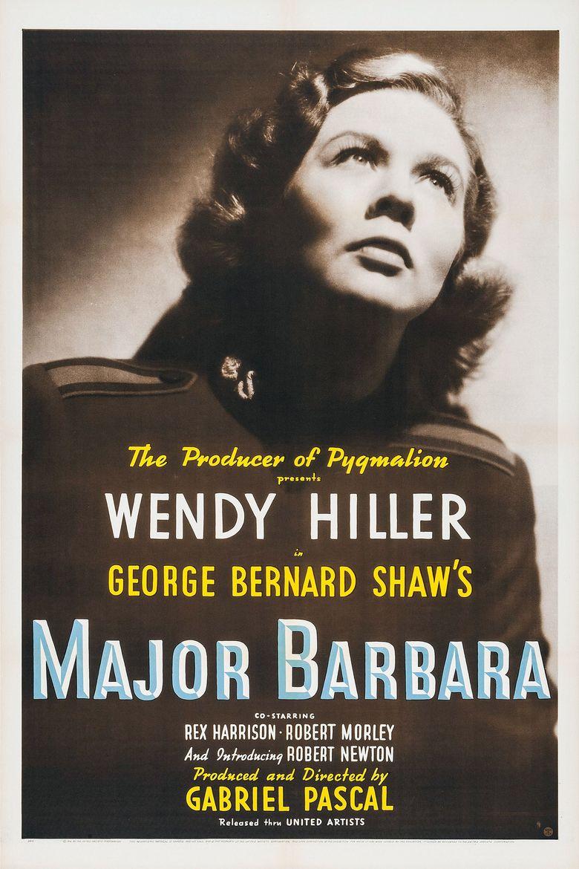 Major Barbara Poster
