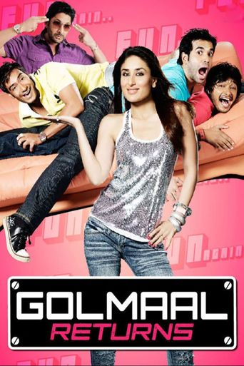 Golmaal Returns Poster