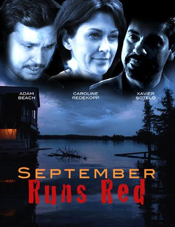 September Runs Red Poster