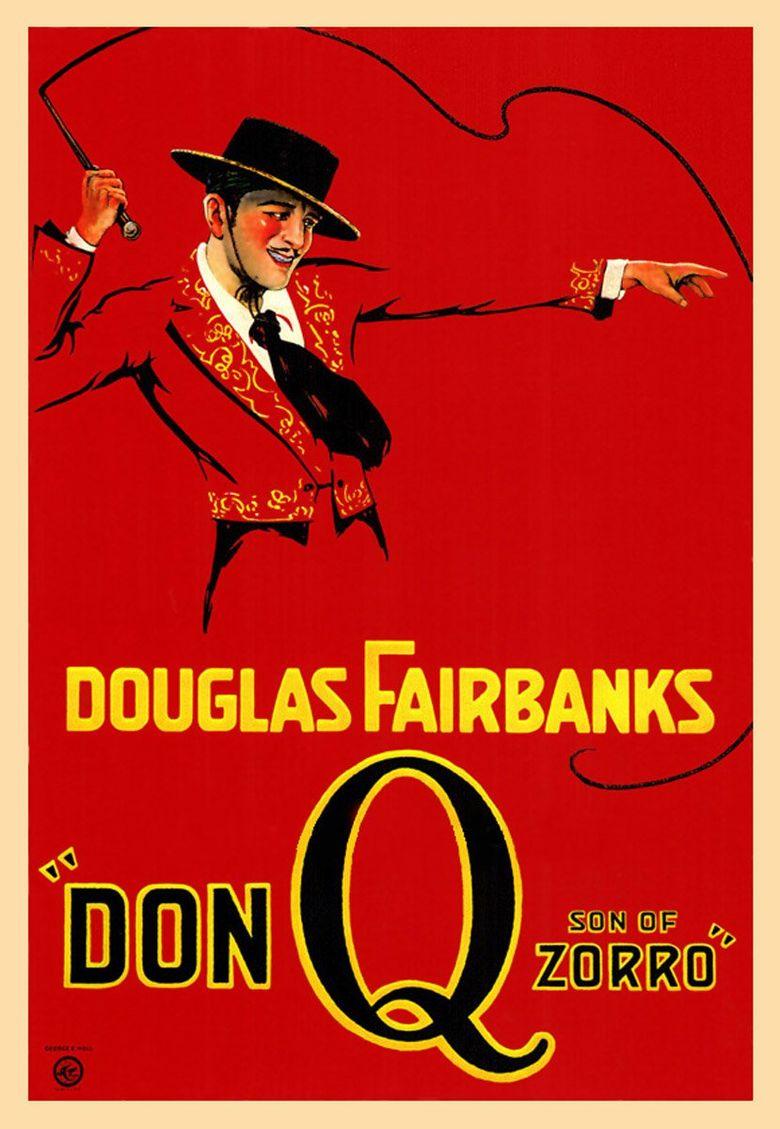 Don Q Son of Zorro Poster