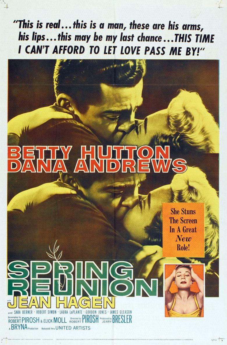 Spring Reunion Poster