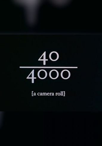 40/4000 Poster