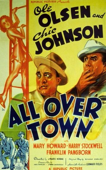 All Over Town Poster