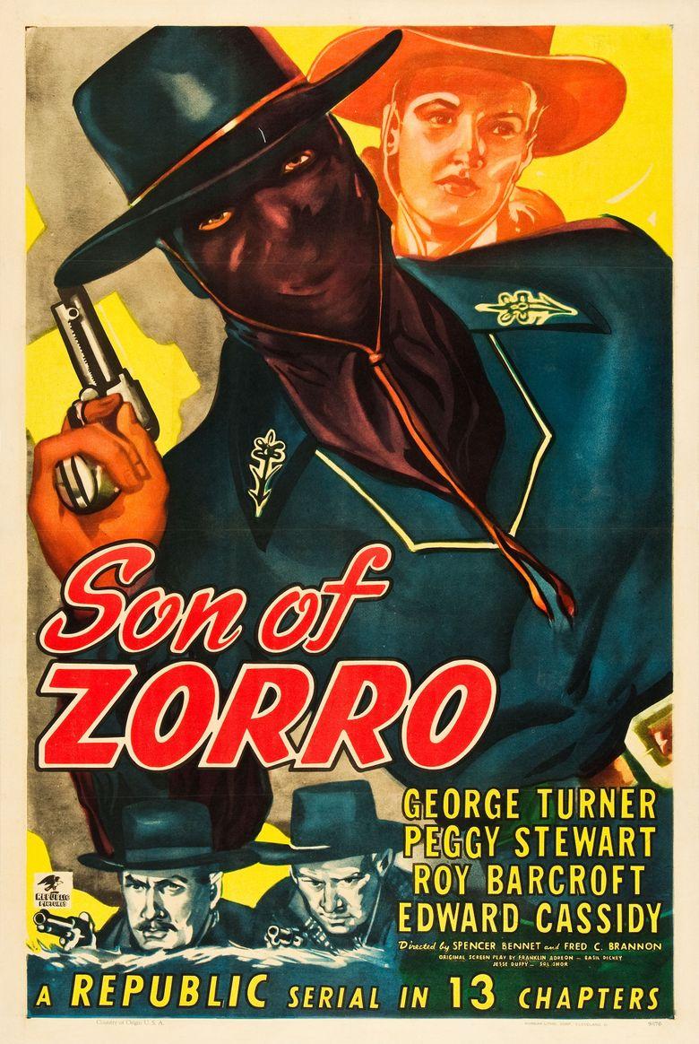 Son of Zorro Poster