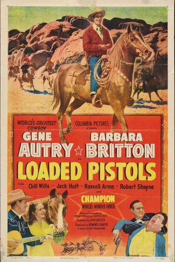 Loaded Pistols Poster