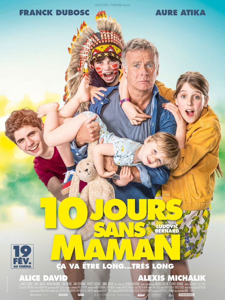 10 Days Without Mum Poster