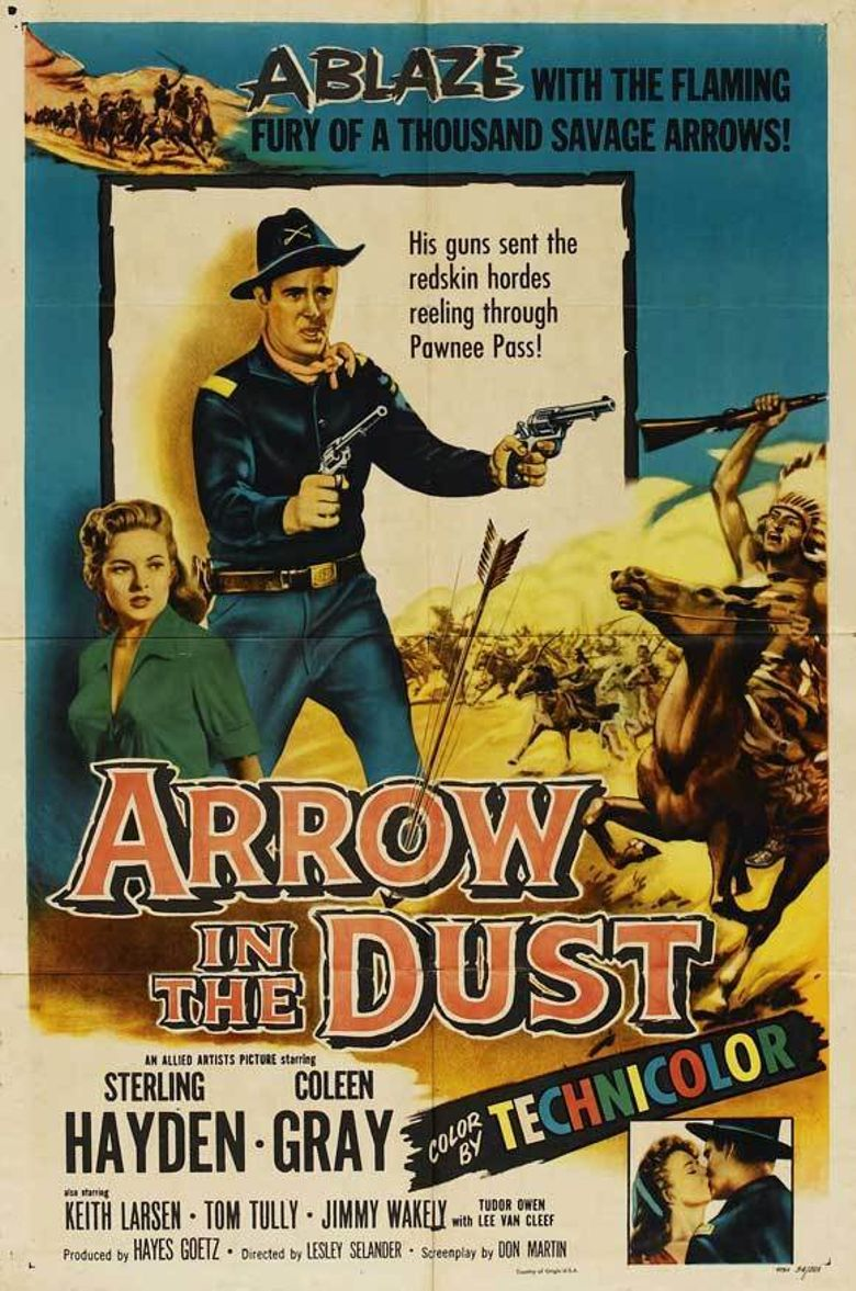 Arrow In The Dust Poster