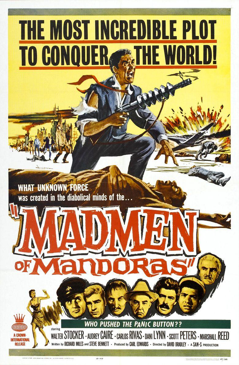 The Madmen of Mandoras Poster
