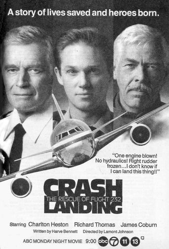 Crash Landing: The Rescue of Flight 232 Poster