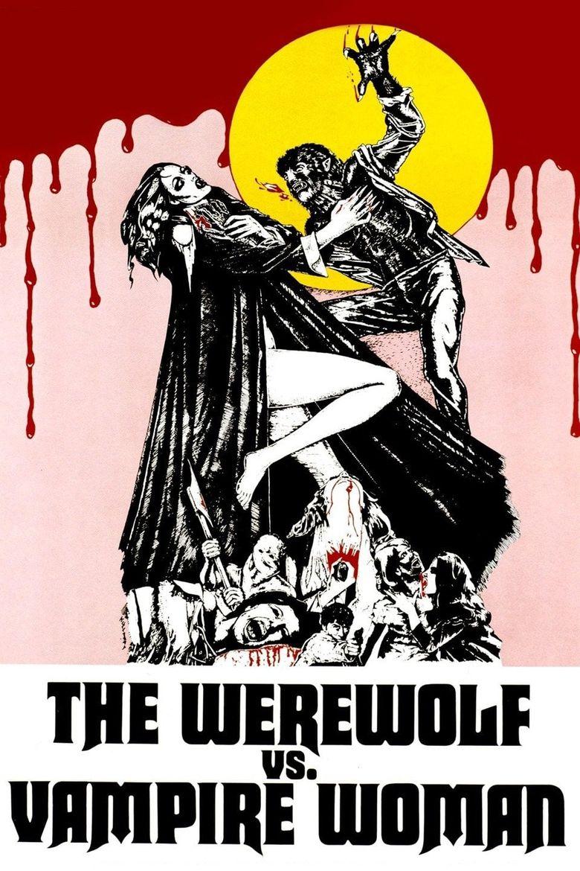 The Werewolf Versus the Vampire Woman Poster