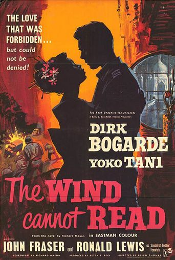 The Wind Cannot Read Poster