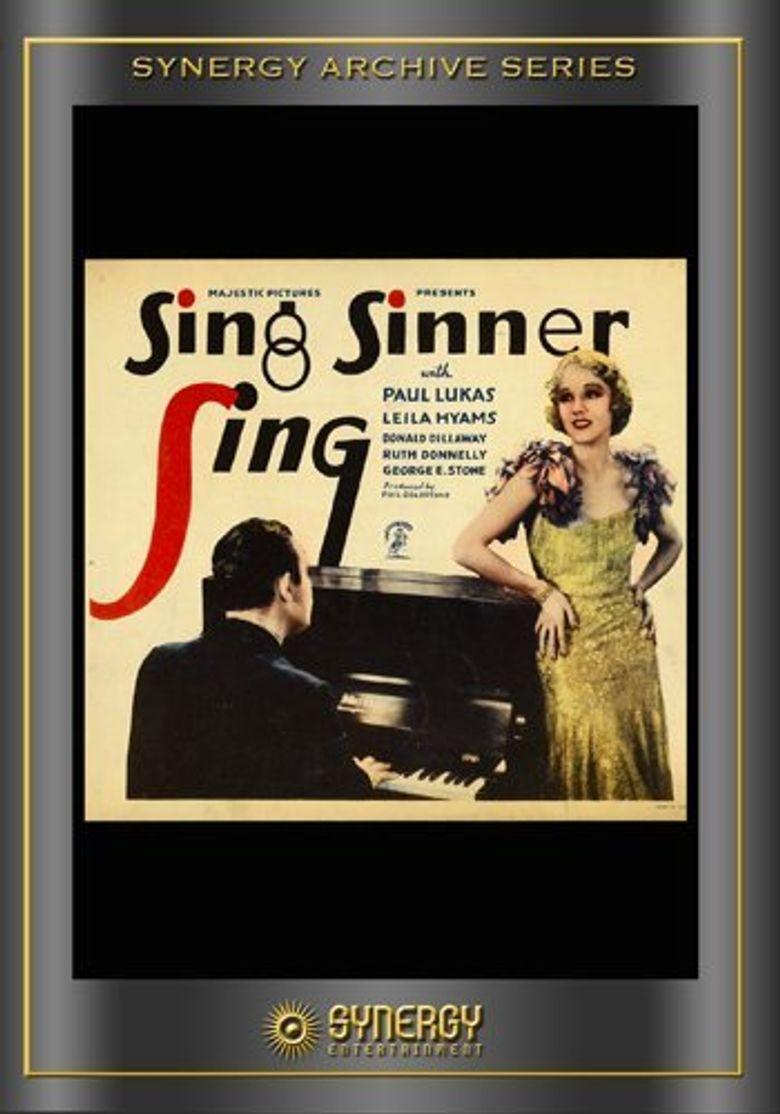 Sing, Sinner, Sing Poster