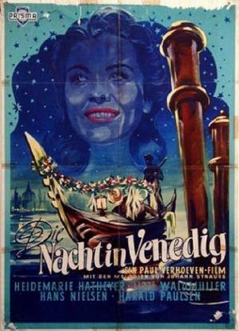 Die Nacht in Venedig Poster