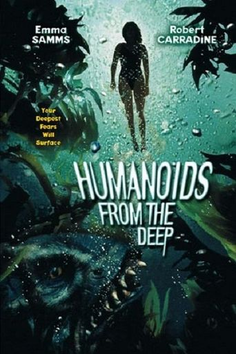 Humanoids from the Deep Poster