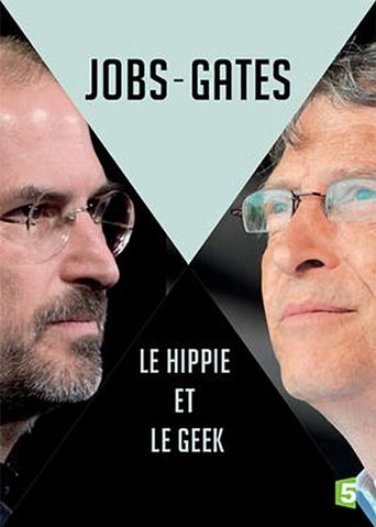 Jobs vs. Gates: The Hippie and the Nerd Poster