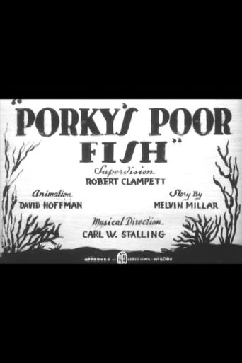 Porky's Poor Fish Poster