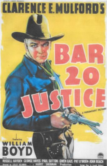 Bar 20 Justice Poster