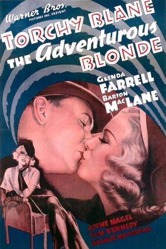 The Adventurous Blonde Poster