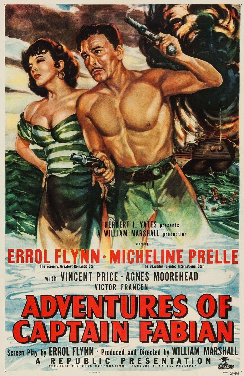Adventures of Captain Fabian Poster