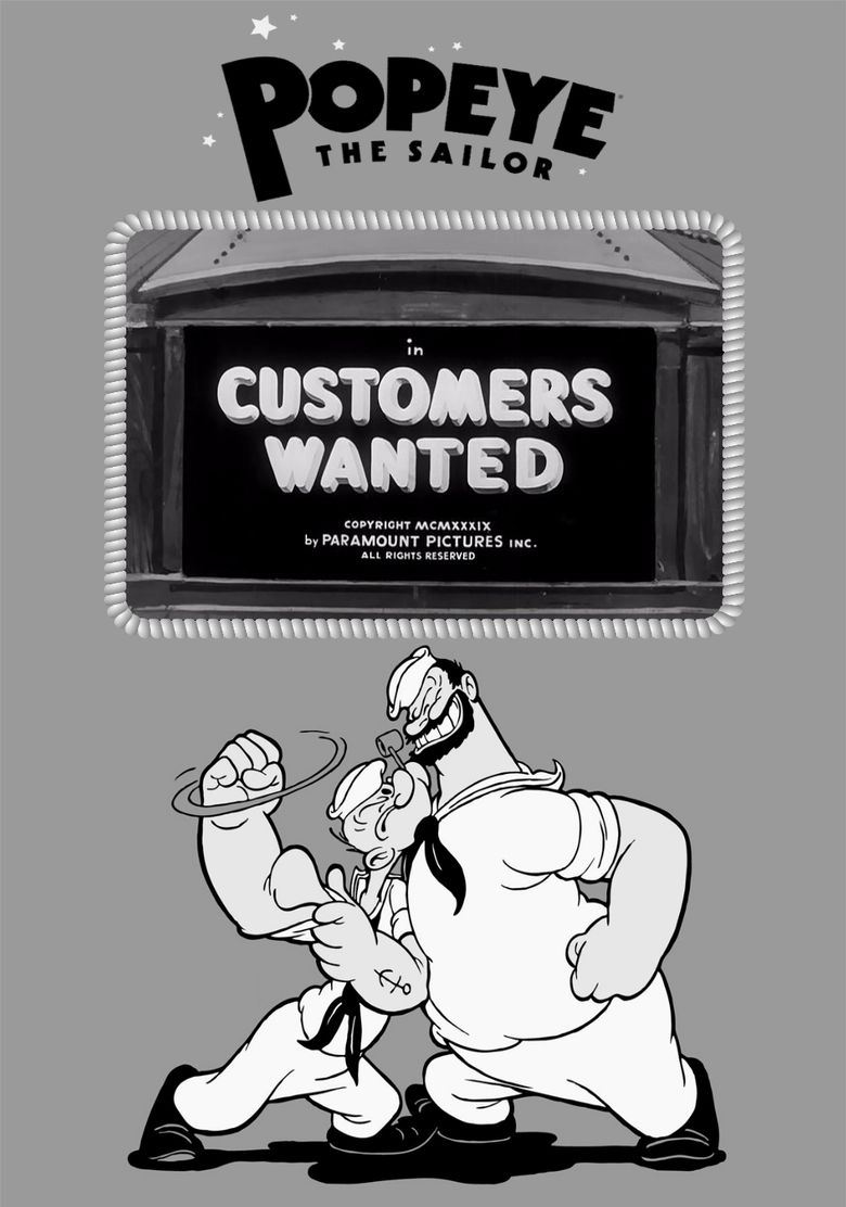 Customers Wanted Poster