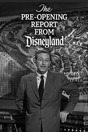 The Pre-Opening Report from Disneyland Poster