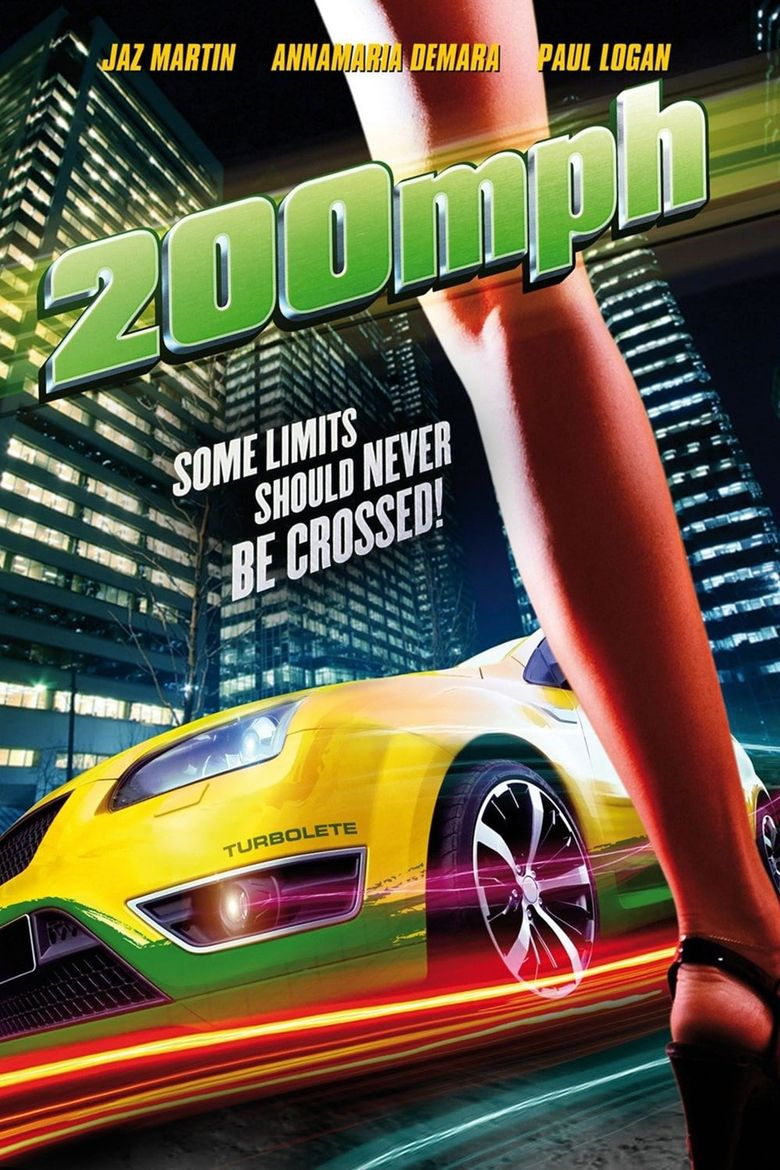 200 MPH Poster