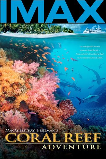 Coral Reef Adventure Poster